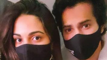 Varun Dhawan posts a selfie with 'praying partner' Kiara Advani as they resume shoot for Jug Jugg Jeeyo