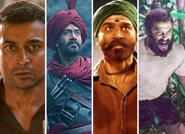 Soorarai Pottru, Asuran, Tanhaji, Jallikattu among the Indian films to screen at the Golden Globes Awards 2021