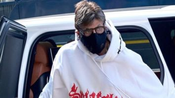 A nervous Amitabh Bachchan begins shooting for Ajay Devgn's Mayday, Rakul Preet Singh reacts