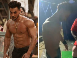 Aayush Sharma continues training for Antim despite fracturing his hand, watch video