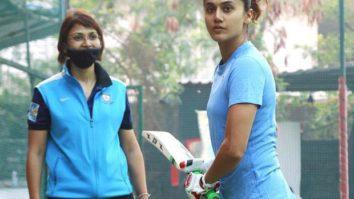 After wrapping Rashmi Rocket, Taapsee Pannu begins cricket training for Mithali Raj biopic Shabaash Mithu