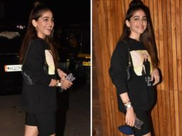 Alaya F is all about athleisure glam in the most affordable Devil Wears Prada sweatshirt that costs Rs. 2, 300 only