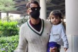 Arjun Rampal with family spotted at Airport