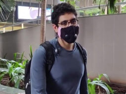 Ayan Mukerji spotted at Airport