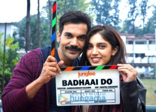 On The Sets Of The Movie Badhaai Do