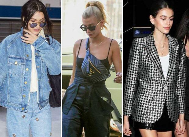 Bella Hadid, Hailey Bieber, Kaia Gerber show 5 fashion faux pas that have become trendy again!