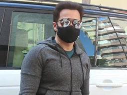 Emraan Hashmi spotted at gym Bandra