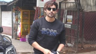 Gurmeet Chaudhary spotted at Sequel Restaurant Bandra