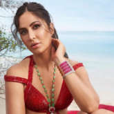 Katrina Kaif looks ravishing in red on her Peacock magazine cover; talks about creating her make-up label .