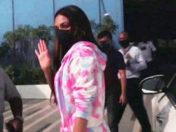 Kiara Advani spotted at Murad Khetani's office for Bhool Bhulaiyaa 2 meeting