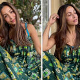 Malaika Arora's green printed maxi dress is affordable and perfect for your brunch date