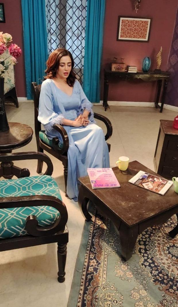 From The Sets Nehha Pendse begins shooting for her part in Bhabhiji Ghar Par Hain
