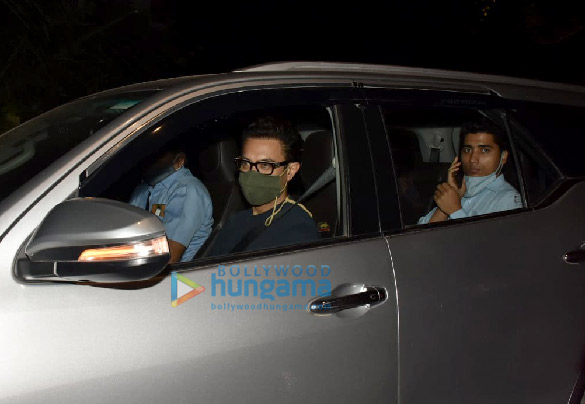 Photos Aamir Khan and Amitabh Bhattacharya snapped at Imraan Khan's house in Bandra (3)