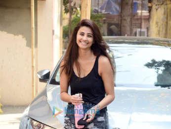 Photos: Daisy Shah and Tanishaa Mukerji spotted at Pilates
