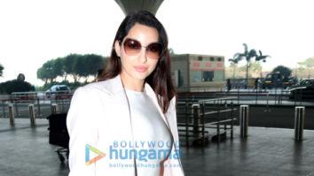 Photos: Nora Fatehi and Hansika Motwani snapped at the airport