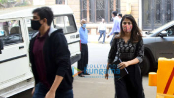 Photos: Rhea Chakraborty and Showik Chakraborty snapped arriving at the NCB office