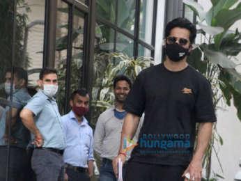 Photos: Varun Dhawan spotted at Maddock Office in Santacruz