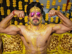 Post wedding with Natasha Dalal, Varun Dhawan shares glimpses from his haldi ceremomy