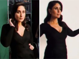 Pregnant Kareena Kapoor Khan is all about the glam in a black gown