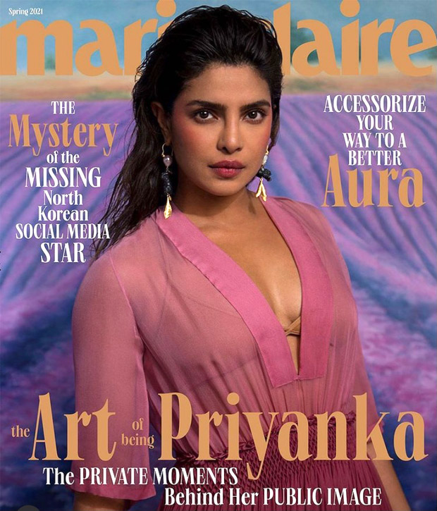 Priyanka Chopra is epitome of style as she channels spring vibes on the cover of Marie Claire