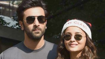 Ranbir Kapoor and Alia Bhatt explore the Ranthambore forest on New Year's Day; see pic