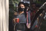 Sara Ali Khan spotted at Gym Bandra