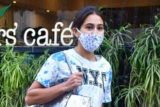 Sara Ali Khan spotted post-lunch at Farmer's Cafe in Bandra