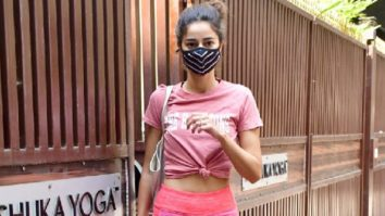 Spotted - Sophie Choudry, Pooja Hegde, Ananya Pandey at Bandra
