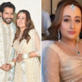 Varun Dhawan - Natasha Dalal Wedding: Stunning bride gives a glimpse of glittery rosy makeup look