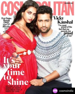 Vicky Kaushal On The Cover Of Cosmopolitan