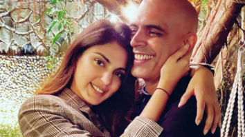 Roadies fame Rajiv Lakshman shares pictures with Rhea Chakraborty from get together