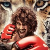 Vijay Deverakonda's fans celebrate Liger by pouring milk on the poster and get the name of the film tattooed