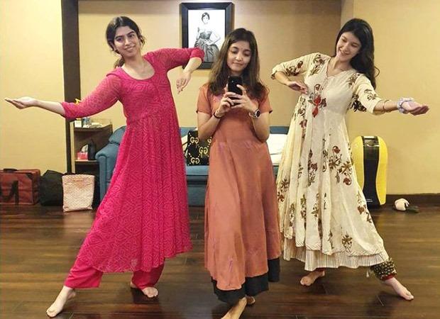 Shanya Kapoor and Khushi Kapoor train in classical dance; see pic