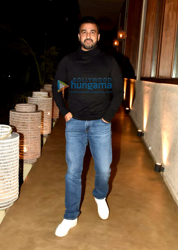 Photos: Ranveer Singh, R Madhavan, Raj Kundra and others spotted at Bastian in Worli