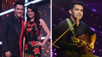 Aditya Narayan serenades wife Shweta Agarwal on the Valentine Weekend on the sets of Indian Idol Season 12