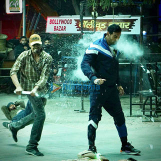 On The Sets Of The Movie Attack