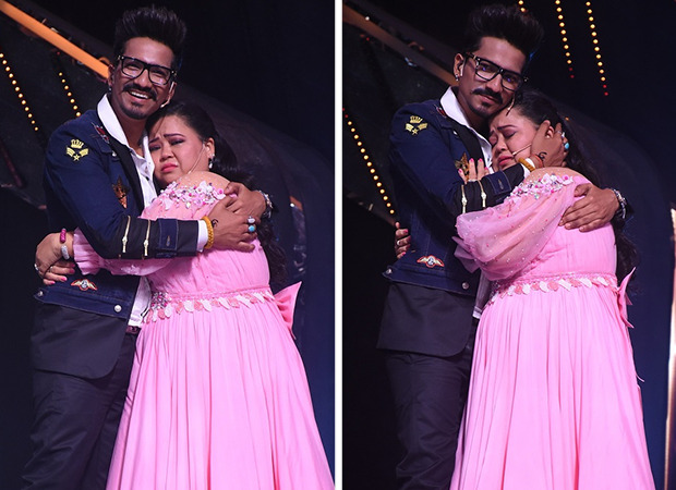 Bharti Singh gets emotional while dancing with her husband Harsh Limbchiyaa on Indian Idol 12