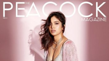 Bhumi Pednekar On The Cover Of The Peacock