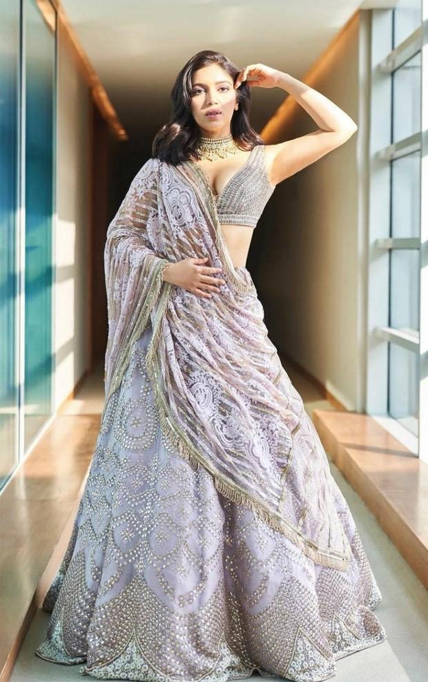 Bhumi Pednekar and her sister Samiksha evoke sheer elegance in Manish Malhotra lehengas setting springtime wedding goals