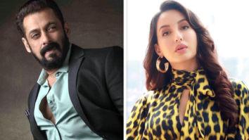Bigg Boss 14 Finale Salman Khan and Nora Fatehi do the 'Garmi' hook-step