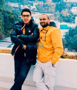 On the sets of the movie Dinesh Vijan's Next