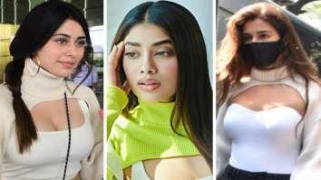Janhvi Kapoor, Disha Patani or Warina Hussain – Who wore the arm warmer trend better