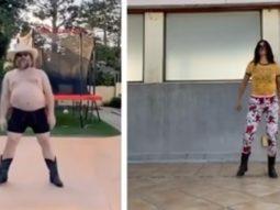 Katrina Kaif takes the Jack Black's dance challenge, hopes to do a duet with him