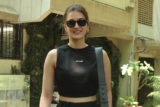 Kriti Sanon & Divya Dutta spotted post salon session at Kromakay salon in Juhu