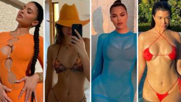 Kylie Jenner, Kim Kardashian, Kendall Jenner, Khloe Kardashian, Kourtney Kardashian set the temperature soaring in bikinis duringTurks and Caicos vacation
