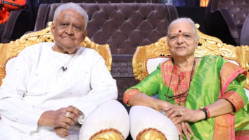 Legendary music composer Pyarelal and his wife grace the sets of Indian Idol 12