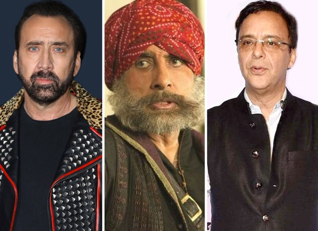 """Nicolas Cage saw Eklavya many times and said it made him CRY every time"" - Vidhu Vinod Chopra"