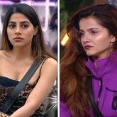 Nikki Tamboli left shocked to see Rubina Dilaik speaking ill of her in the beginning of Bigg Boss 14