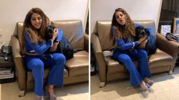 Nikki Tamboli shares an adorable video of meeting her pets after 5 months post Bigg Boss 14