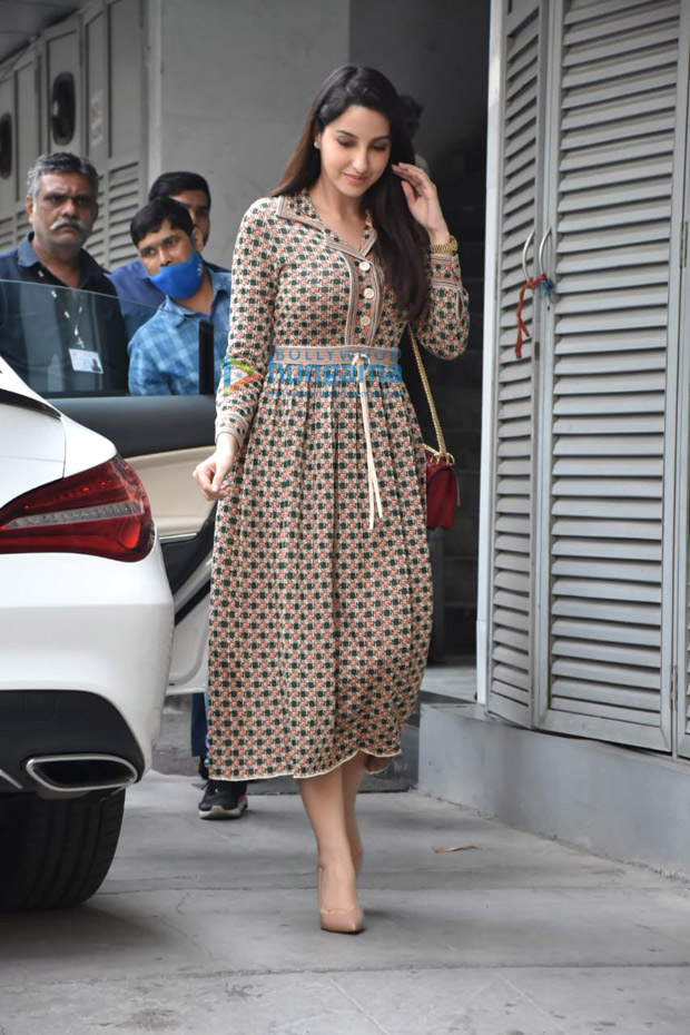 Nora Fatehi's neutral Gucci brown dress worth over Rs. 3 lakhs will instantly spruce up your brunch date look